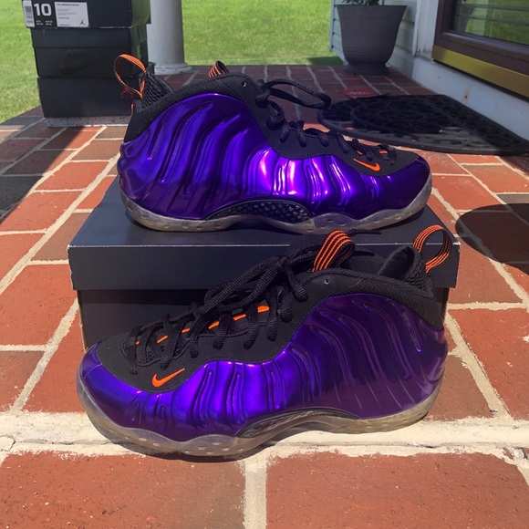 "timeless design 0c423 52988 Air Foamposite One ""Phoenix Suns"" Sz10"